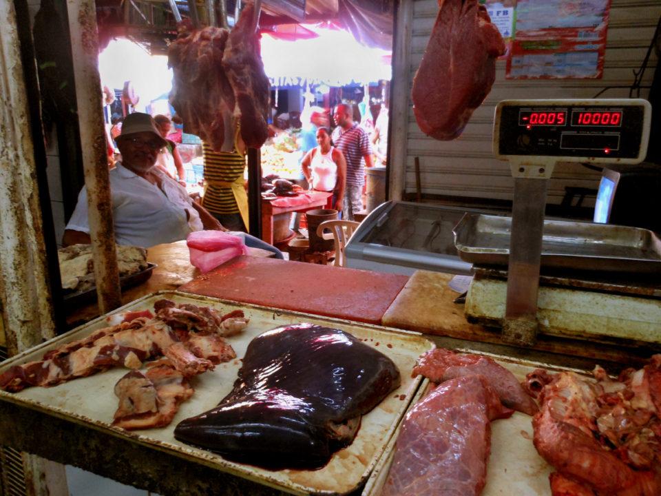 Market in Cartagena